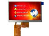 "5.0 "" module de l'écran LCD TFT, 480*272 Spi séquentiel, contact facultatif"