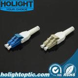 Connecteur LC à fibre optique Uniboot pour cordons de raccordement