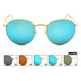 Moda Pronto Unissexo Lentes de vidro de estoque de óculos de sol (CLX0009)