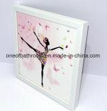 Belles illustrations de bâti de mur de fille pour la décoration de pièce
