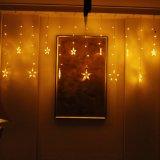 ホームモールの社内パーティーの結婚式の寝室Xmasのための連結可能つららのカーテンストリングライト