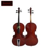 Comercio al por mayor para violonchelo de color marrón brillante con alta calidad