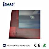 10.1 Zoll LCD-Geschäfts-Geschenk-Videokarte-grüßende Videokarte mit Touch Screen