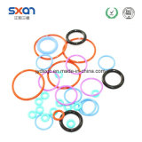 De rode RubberO-ring/O-ring van het Silicone/RubberO-ring