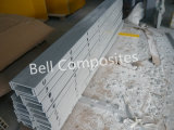 GRP Channel, FRP Channel, Gfrp Punched Channel, plastic Channel.
