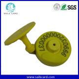 Modifiche di orecchio animali dell'identificazione di RFID 125kHz
