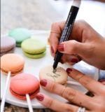 Nahrungsmittelverfasser-essbare Farben-Markierungen