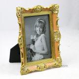 Estilo europeo de la venta del nuevo del estilo 4X6 de la resina marco caliente de la foto que mira el marco tamaño pequeño de la pintura