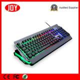 Семь разноцветных LED компьютер проводные USB клавиатуры для игр