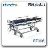 ステンレス鋼の病院の救急車の転送の伸張器、医学の救急処置装置トロリー