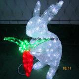 Kaninchen-Lichter des LED-Motiv-Licht-Dekoration-Häschen-Licht-Schneemann-LED