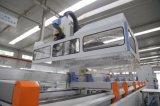 Centre de fraisage de foreuse d'axe de la commande numérique par ordinateur 4 de mur rideau pour le profil en aluminium