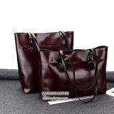 Bolsa do couro genuíno de saco de Tote da senhora Lazer Saco Mulher da fábrica Emg5263 de China