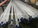 800 de Spiegel van het gruis die om de Koudgetrokken Gelaste Pijp van het Roestvrij staal wordt opgepoetst