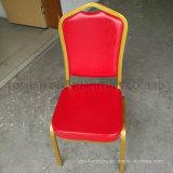 Hôtel Vinyle de meubles rembourrés Banquet d'empilage chaise avec retour de la Couronne