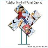 El molino de viento de la rotación/la visualización creativa de TV/LED, puede ser Oder para el funcionamiento en grande
