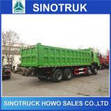 Sinotruk HOWOの道のダンプトラックを離れた商業ダンプカートラック