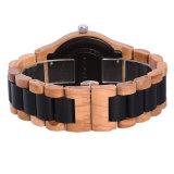 Оптовая торговля на заводе Японии движение сверхтонкий Man кварцевые часы из дерева на запястье