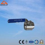 3PC forjó la vávula de bola roscada acero de flotación (GQ11F)