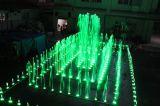 Fontaine d'eau extérieure de danse de grande fontaine de constructeur