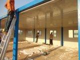 Conteneur de conception de la chambre de taille personnalisée pour les travailleurs qui vivent au site de construction de la Guinée en Afrique