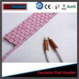 高温抵抗力があるピンク2.7kw/3.6kwの陶磁器の温湿布
