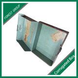 Caixa de empacotamento ondulada superior da caixa da dobra com inserção da espuma