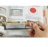 Portable 6X Square Magnifier Ruler com marcador PVC lupa régua 187 * 65mm Hw-803A