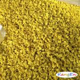 多彩なデザインおよび環境保護のネットの味の庭EPDMのゴム製微粒(K02Green/K04Yellow)