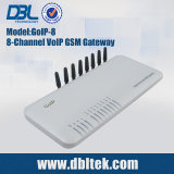 DBL 1/4/8 puertos VoIP GSM Gateway (GoIP-8)