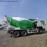 Sinotruk 10の荷車引き8m3のセメントの混合物の具体的な混合のトラック