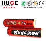 Bateria de tamanho AA 1,5V bateria primária de Ferro FR6