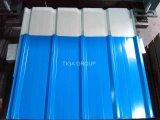 0.30/0.45mm Stärken-Farbe beschichtetes galvanisiertes Stahlblech/Dach-Fliese