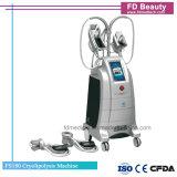 Máquina de congelação gorda de Cryolipolysis Cryotherapy de 4 punhos para o uso da clínica