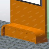 Constructeurs solaires d'abri d'arrêt de bus en métal