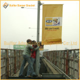 Уличный свет Поляк металла рекламируя вешалку плаката (BS-BS-049)