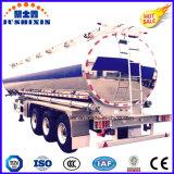 3 reboque de alumínio do Semitrailer do eixo 50000L ou do petroleiro do caminhão Semi