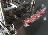 자동적인 컵 충전물 및 밀봉 기계