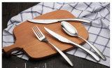 Комплект нержавеющей стали Tableware/Cutlery комплектов обеда установленный/Cutlery умеренной цены с пластичной ручкой