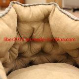 옥스포드 피복 유럽식 정연한 극상 우단 고양이 집 호화스러운 개 침대