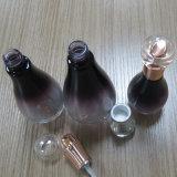 De gevoelige 40ml Ovale Kosmetische Fles van het Glas 120ml 100ml