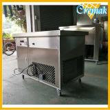 La Ronda comercial pan plano Tailandia Fried Ice Cream Machine en venta