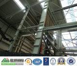 Dormitorio dell'operaio della struttura d'acciaio