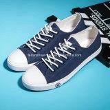 古典的な人の歩きやすい注入のズック靴の余暇のスニーカーの靴(FF1527-10)