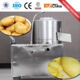 Pommes de terre végétales de fruit lavant et machine d'écaillement