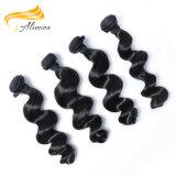 Cutícula completo Virgem bruto natural extensão de cabelo mongol