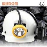 専門鉱山の帽子ランプの製造業者、抗夫のCaplamp Kl4ms