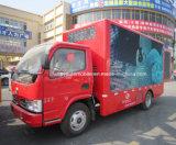 6 ruedas LED que hacen publicidad del vehículo publicitario móvil de la venta caliente del carro
