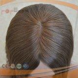 Perruque médicale de première mode chaude en soie de cheveux humains