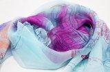 Seide-Schal der Form-langer Dame-Silk Chiffon Custom Print